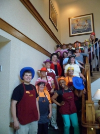 Crazy Hat Contest at Sunrise Assisted Living of Fair Oaks, Assisted Living Week 2012