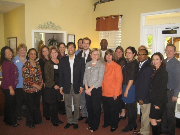 Reception for Dr. Pan, Assembly Member, at Emeritus at Laguna Creek
