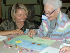 Eskaton Intergenerational Art Workshop