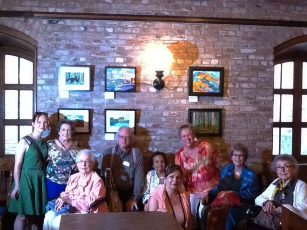 Emeritus at Diablo Lodge / California Inspires! resident art show / CALA