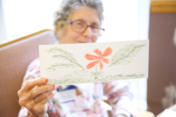 CiminoCare and ARTZ: Artists for Alzheimer's Intergenerational Art Day