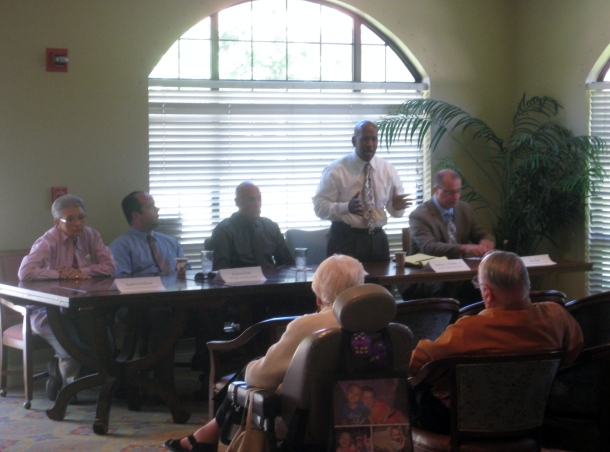 Oak Tree Villa Welcomes Local Candidates