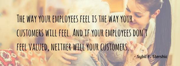 The way your employees feel is the way