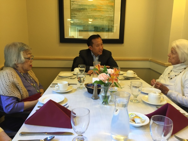 Assm David Chiu meeting with Vintage Coventry Residents