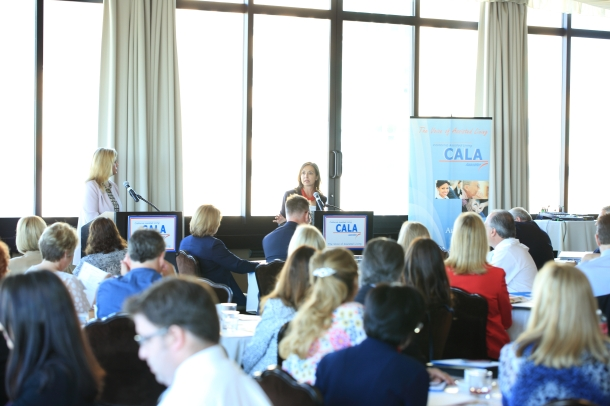 """""""Time to assist the CALA team in talking to legislators is so important. it also helps me stay on top of what is going on in our industry."""""""