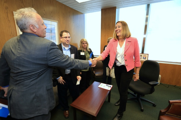 """""""I loved speaking to the legislators and their staff about what we do every day."""""""