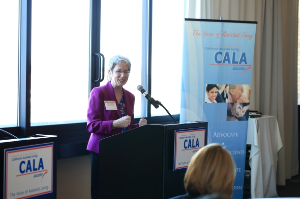 """""""An outstanding day! Lora Connolly's Future of Aging in California was very interesting."""""""