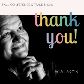 Aspire: CALA's 2016 Fall Conference & Trade Show
