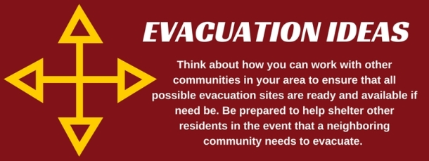 evacuation ideas