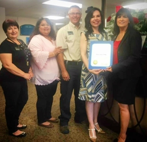 Atria Covina Receives Certificate of Recognition from Assemblymember Rubio