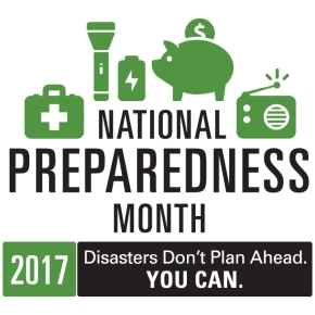 Get Ready During National Preparedness Month